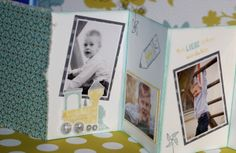 Leporello craft DIY projects and Bastelideen baby photos photo album Creative Crafts, Easy Crafts, Intellectual Skills, Diy Craft Projects, Mini Albums, Style Guides, Little Ones, Stampin Up, Polaroid Film