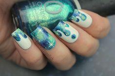 Coewless* Galaxy Nail Art