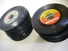 Lot of 100 Vintage Jukebox 45s Vinyl by austroantiques on Etsy