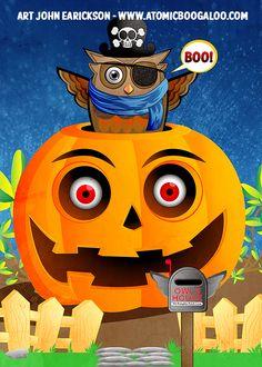 Halloween Card art