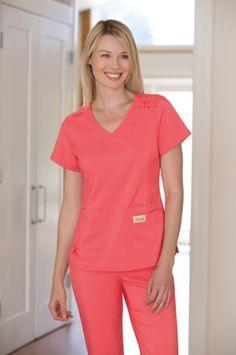 koi Designing Happiness™ - The official home of koi design scrubs. Nurse Photos, Koi, Scrubs, Medicine, Tech, V Neck, Shopping, Collection, Women