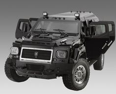 Conquest Vehicles Knight XV - luxury armored SUV. Take on the Zombie Apocalypse in style...