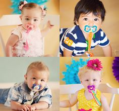 Paci-Catchers are a must have baby accessory! They work with all styles of pacifiers and are even adjustable!