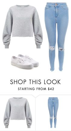 """""""Untitled #97"""" by ejeffrey3 on Polyvore featuring Miss Selfridge and Vans"""