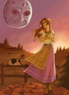 Malon with the Moon