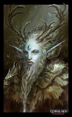 Ancient Portrait - Tempus Ren RPG, Alexandre Chaudret on ArtStation at http://www.artstation.com/artwork/ancient-portrait-tempus-ren-rpg