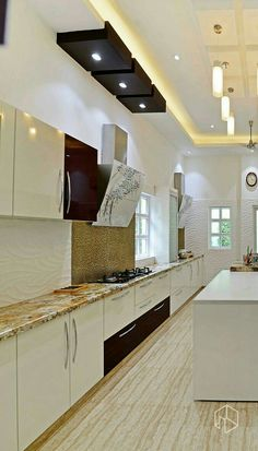 Fascinating Tips: Glass False Ceiling false ceiling living room kitchens.False Ceiling Ideas For Showroom false ceiling design new. House Ceiling Design, Ceiling Design Living Room, Bedroom False Ceiling Design, Bedroom Ceiling, Living Room Designs, Living Rooms, Kitchen Lighting Design, Kitchen Design, Layout