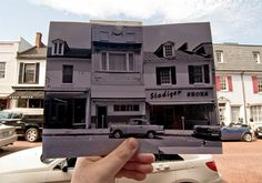Creative photo series by Jason Powell allows you to look into the past while keeping an eye on the present.
