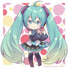 Kawaii Doodles, Kawaii Chibi, Cute Chibi, Anime Chibi, Anime Art, Vocaloid Characters, Chibi Characters, Cute Anime Pics, Cute Anime Couples