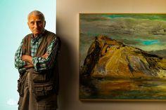 Greek Painter Panagiotis Tetsis by Dimitris Vlaikos