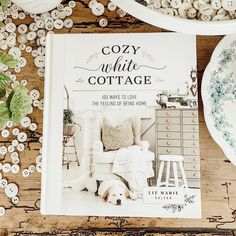 Interior Designer, and Cozy White Cottage Author Liz Marie shares some of her favorite Spring Centerpiece Inspiration over the last few years. White Cottage, Cozy Cottage, Cottage Style, Farmhouse Style, Farmhouse Decor, The Found Cottage, Vintage Inspiriert, Guest Bedrooms, Cabana