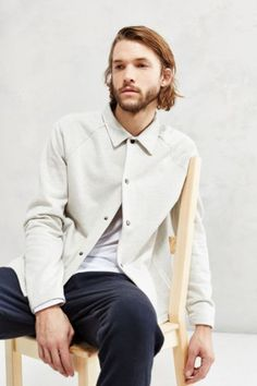 The Narrows Coaches Jacket - Urban Outfitters