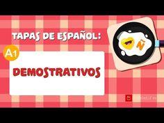 Demostrativos en español - Demonstrative Pronouns and Adjectives in Spanish - YouTube