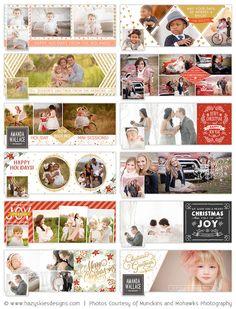 Facebook Timeline Cover Templates   Holiday Bundle