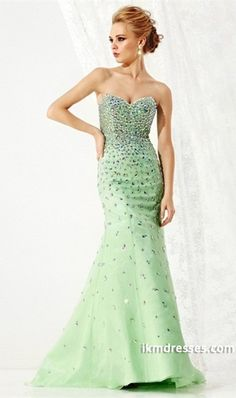 http://www.ikmdresses.com/2014-Sweetheart-Full-Beaded-Bodice-Mermaid-Trumpet-Chiffon-Prom-Dress-Corset-Tie-Back-p85078