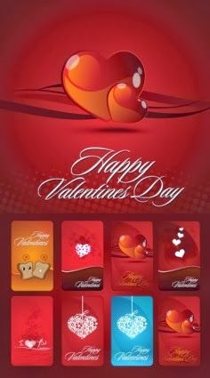 Happy Valentines Day 2014 Vector Graphics Free Download #HappyValentinesDay