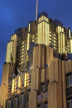 Art Deco Grid Building NYC. Found on s-media-cache-ak0.pinimg.com