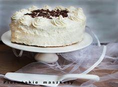 tort urodzinowy Vanilla Cake, Tiramisu, Ethnic Recipes, Food, Essen, Meals, Tiramisu Cake, Yemek, Eten