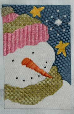HUGS AND STITCHES: Michael, my favorite Snowman
