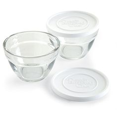 Yes, I am buying these!  Tired of BP infested, tomato sauce stained plastic! 2-cup Prep Bowl Set - The Pampered Chef®
