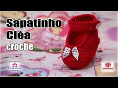 Sapatinho Cléa em crochê - Professora Simone - YouTube