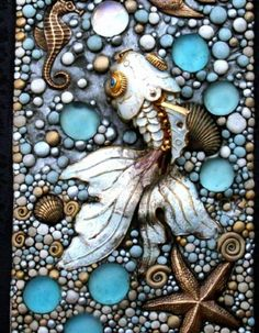 Graceful Goldfish Blank Journal  Cloisonne and solid brass