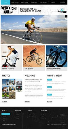 Wordpress Bicycle Theme Web Design Premium Themes Website Designs Template