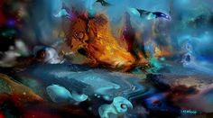 '++Imaginary+Landscape'+von+Natalia+Rudzina+bei+artflakes.com+als+Poster+oder+Kunstdruck+$16.63