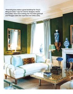 5dab87842b1a4 Famous folk at home  Tory Burch in her Manhattan apartment