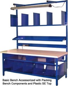 Workbenches :: Packing Station Workbench to meet all of your packaging needs!