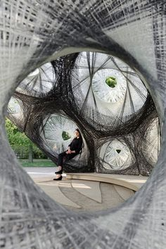 ICD ITKE. Carbon-fibre pavilion based on beetle shells. | METALOCUS