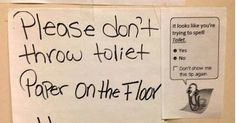 25 Notes Left By Strangers That Are Full Of Hilarity