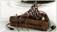 Τούρτα πραλίνας αμυγδάλου - σοκολάτα