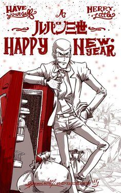 Lupin New Year Refrigerator Jpg by handesigner