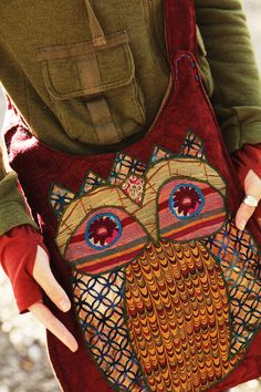 One with the Owl Bag on Etsy From Gypsy Stitch