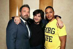 Ben Affleck, Ezra Miller, Ray Fisher at CinemaCon 2017
