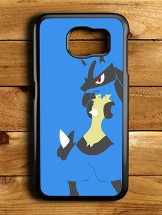 Pokemon Pokedex Blue Lucario Samsung Galaxy S6 Case