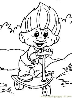 Troll Giant Color Page Fantasy Medieval Coloring Pages Plate Sheetprintable Picture Find This Pin And