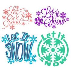 Let It Snow Xmas Pack with Snowflake and Snowball Cuttable Design Cut File. Vector, Clipart, Digital Scrapbooking Download, Available in JPEG, PDF, EPS, DXF and SVG. Works with Cricut, Design Space, Sure Cuts A Lot, Make the Cut!, Inkscape, CorelDraw, Adobe Illustrator, Silhouette Cameo, Brother ScanNCut and other compatible software.