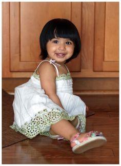Fashion blogger & toddler fashionista Serena