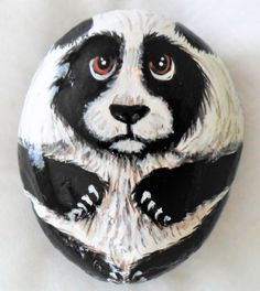 Hand painted rock. One-of-a-kind. Acrylic. 5.3in in length.