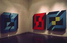 José María Yturralde. Exposición Figuras Imposibles. Museo de Arte Contemporáneo. Madrid, 1973