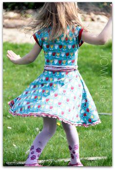 Nähbeispiel lillestoff » Britt Summer Flower «