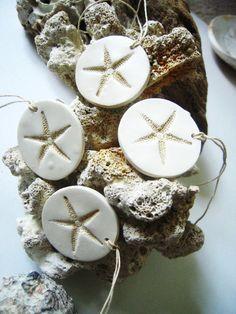 Beach Wedding Starfish Decorations Favor Gift by unconventionalJ, $8.00