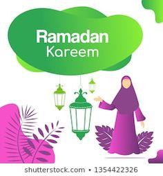 Ramadan kareem flat design with lamps #abstract, #arabic, #art, #background, #banner, #beautiful, #card, #cartoon, #celebration, #concept, #culture, #cute, #decorative, #design, #eid, #element, #festival, #flat, #flower, #flyer, #graphic, #green, #greeting, #hijab woman, #holiday, #holy, #illustration, #islam, #islamic, #kareem, #kids, #lamp, #lantern, #moon, #mosque, #mubarak, #muslim, #people, #poster, #ramadan, #ramadhan, #religion, #religious, #retro, #template, #theme, #traditional…