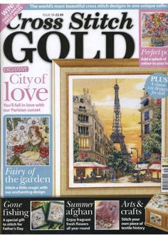 cross stitch  gold   39