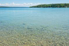 This Michigan Lake Has Crystal Clear Water