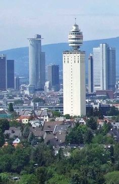 Henninger Tower – Frankfurt, Germany - Complete with a rotating restaurant!