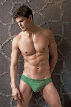 Contour Luxe French Brief - Large, Grey Men's Underwear from UnderGear