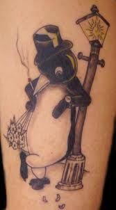 Jared got this tat for me! <3 I'm his penguin.